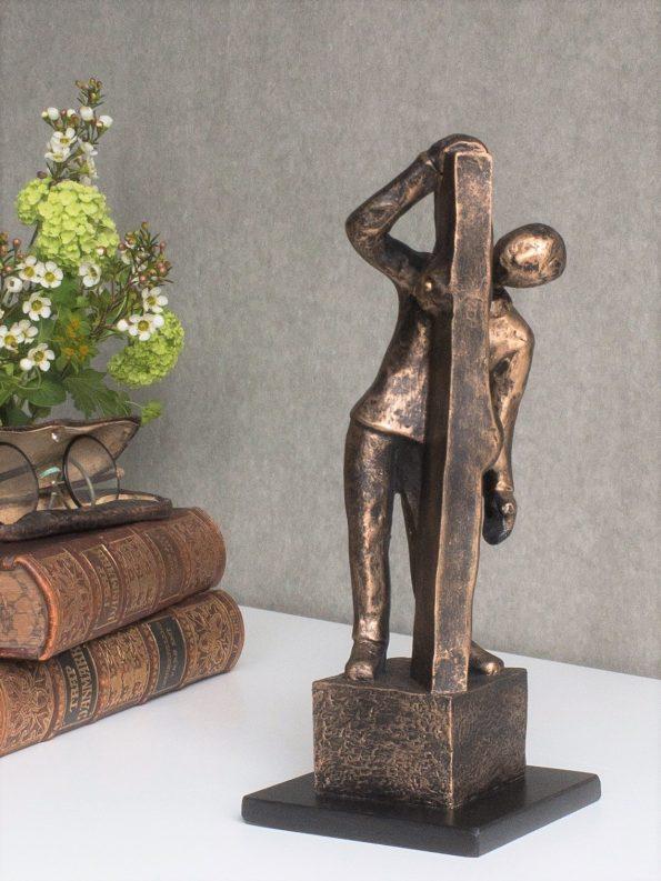 SE SAGEN FRA 2 SIDER - bronze patineret