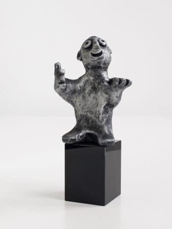 DEN FLITTIGE - bronze patineret