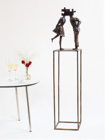 THE PERFECT MATCH - ægte bronze