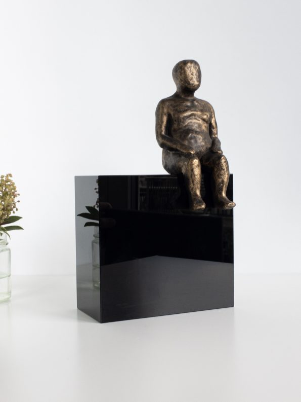 DET STORE OVERBLIK - bronze patineret