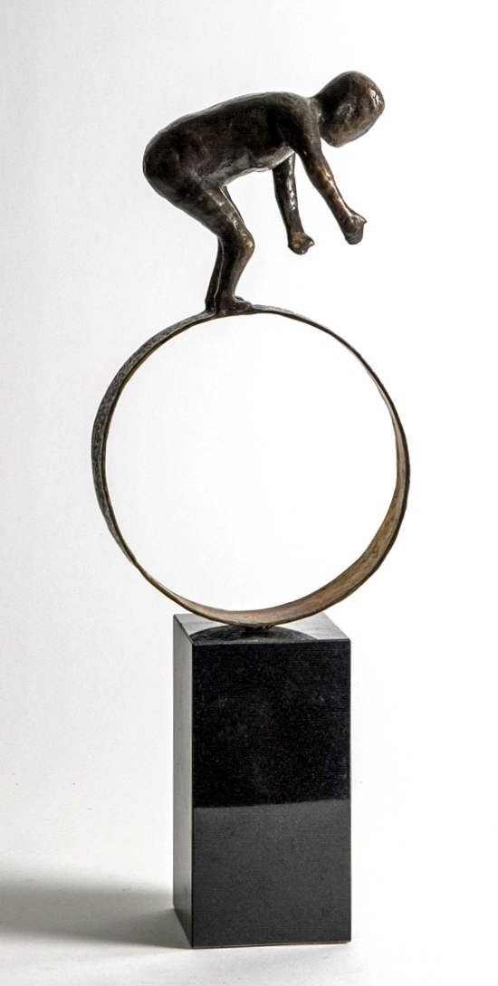 BALANCE - ægte bronze