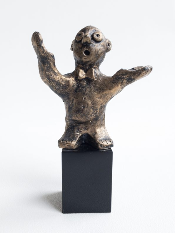 DEN ALSIDIGE - bronze patineret