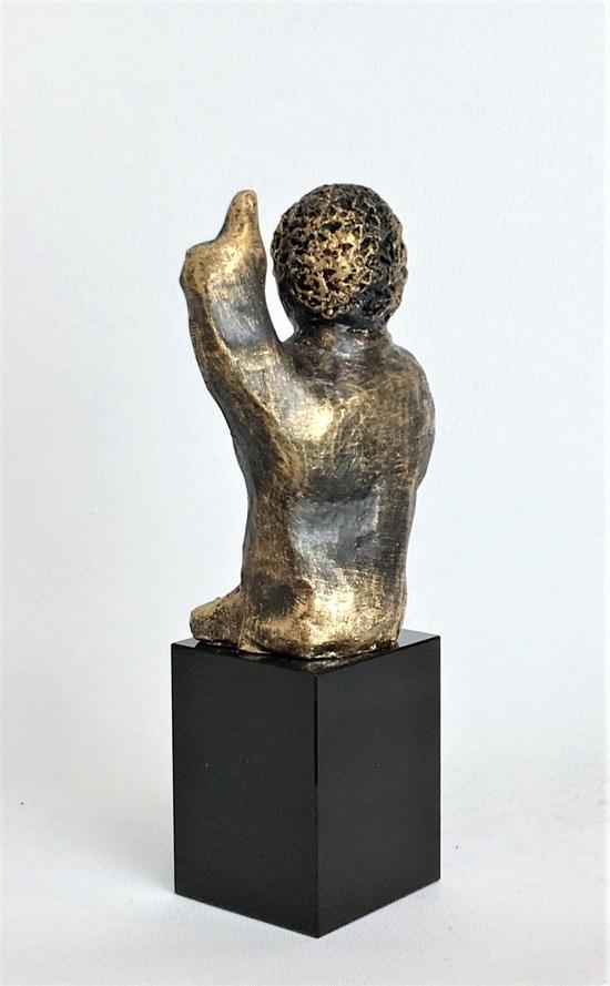 DEN INNOVATIVE - bronze patineret
