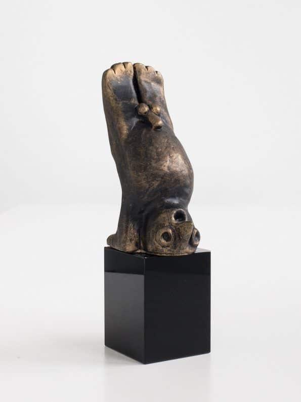 DEN KREATIVE - bronze patineret