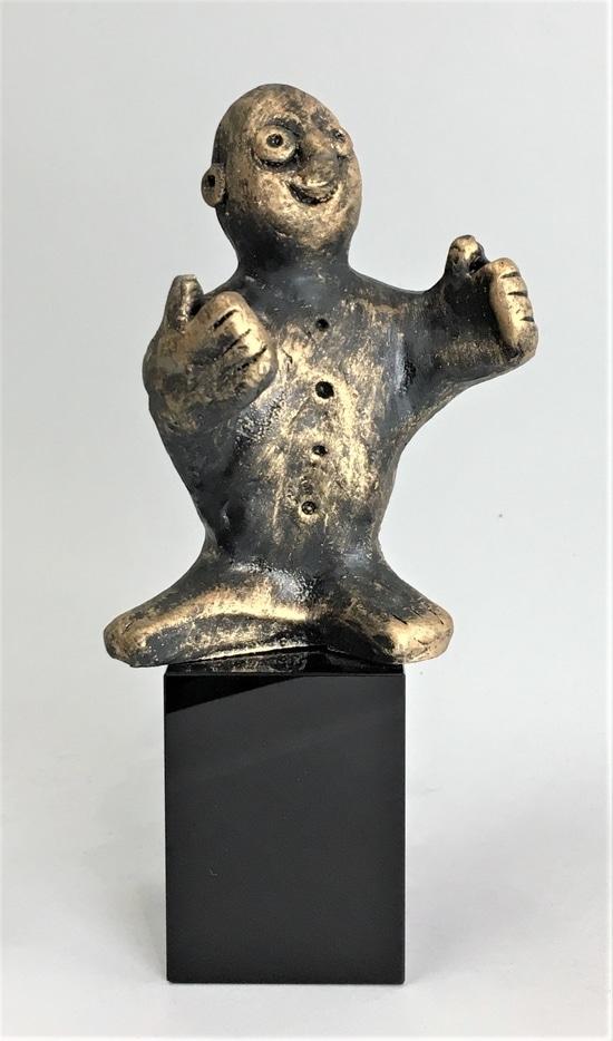 DEN PRODUKTIVE - bronze patineret