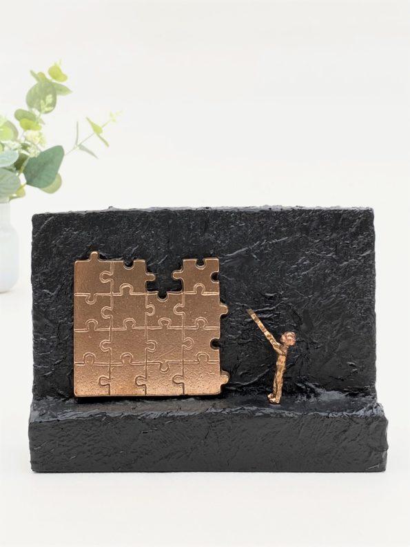 MIT BIDRAG - ægte bronze