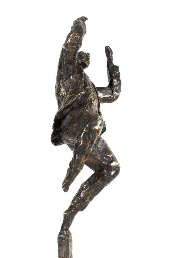 OPTIMISTEN - ægte bronze
