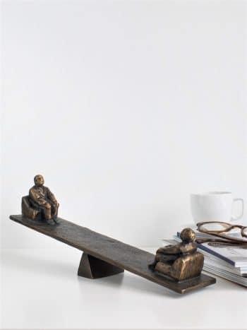 MOMENTUM - ægte bronze