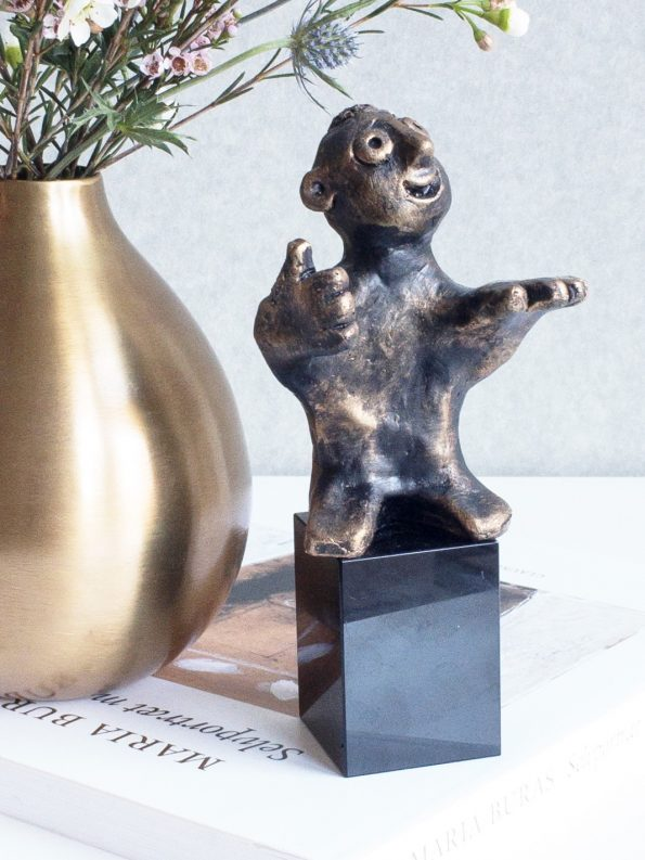 DEN DYGTIGE - bronze patineret