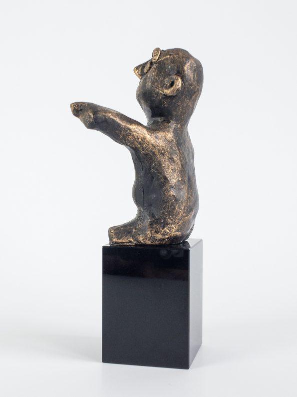 DEN MÅLRETTEDE - bronze patineret