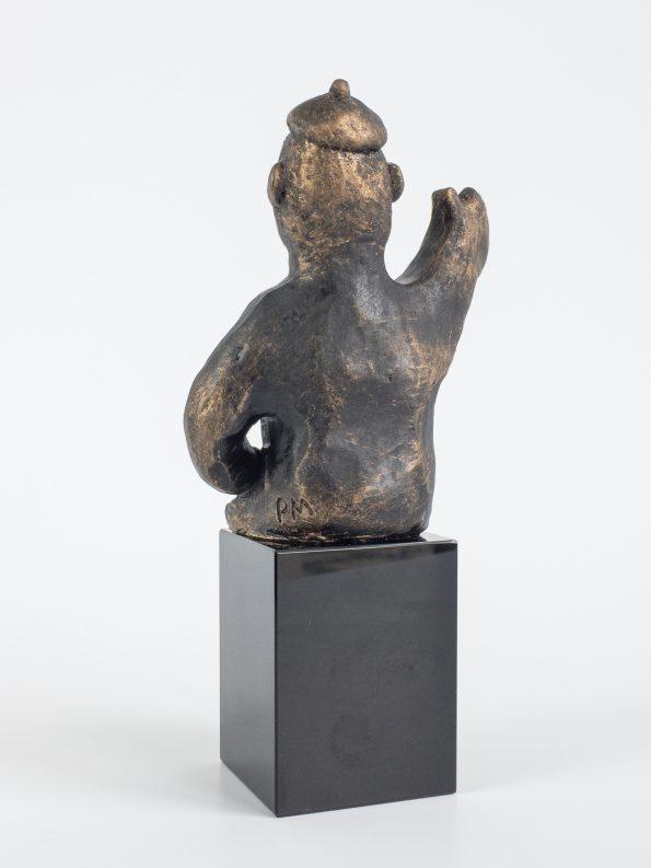 DEN VISIONÆRE - bronze patineret