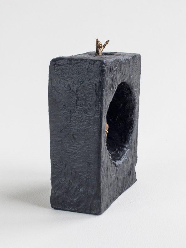 FÆLLES HJÆLP - ægte bronze