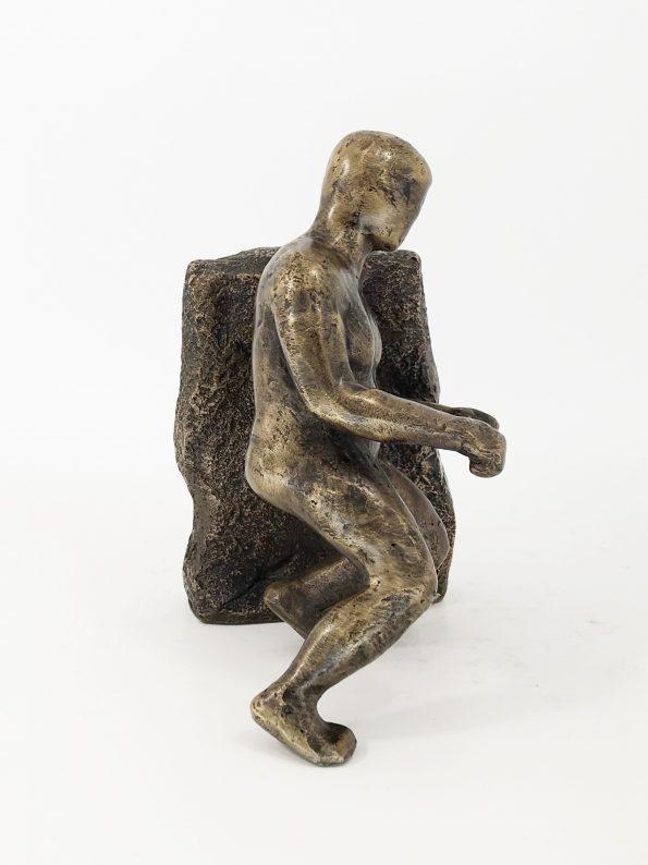 MANPOWER - ægte bronze