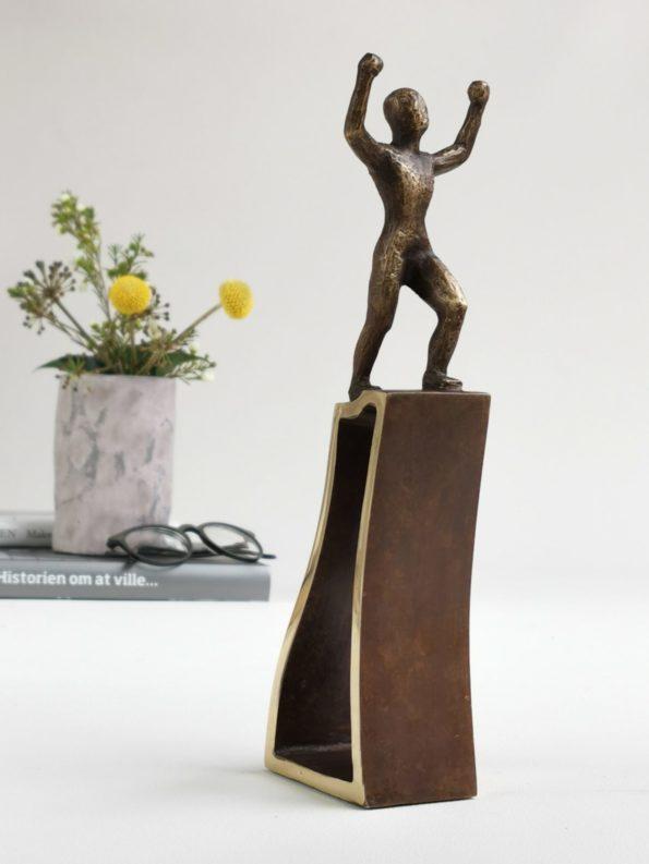 SUCCES - ægte bronze