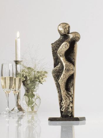 KÆRLIGHED - ægte bronze