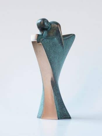 DANSEN - ægte bronze