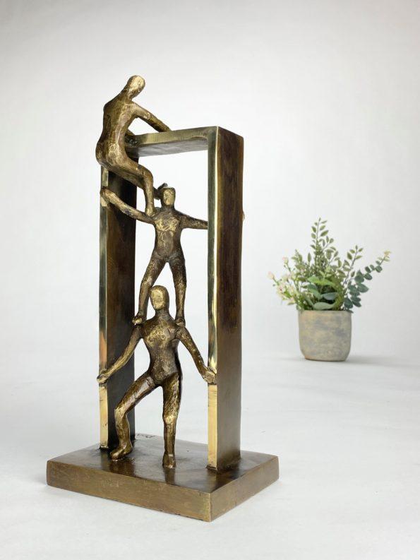 SAMMEN NÅR VI LÆNGST - ægte bronze