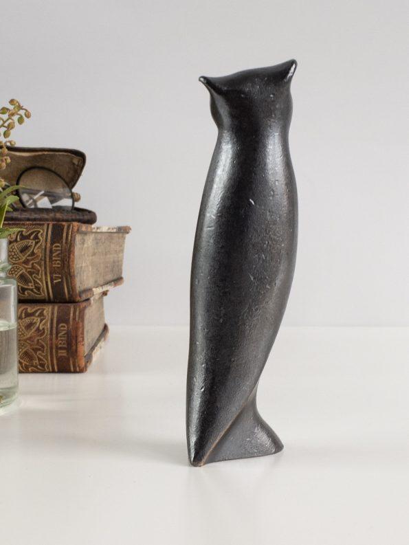 UGLEN - VISDOM OG INDSIGT - ægte bronze