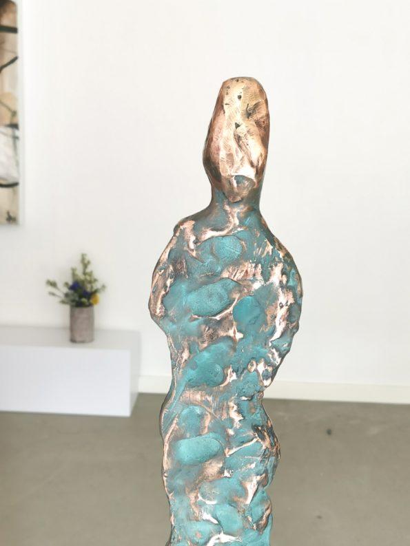 GEJSERMAND - ægte bronze