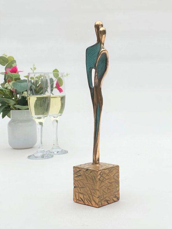 SKABT FOR HINANDEN - ægte bronze