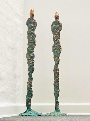 GEJSERPAR - ægte bronze