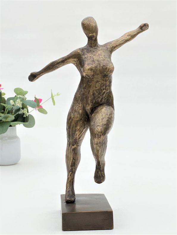 Livsglæde - ægte bronze