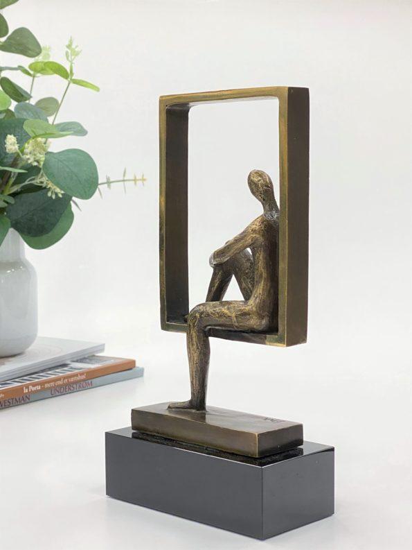 I BALANCE - ægte bronze