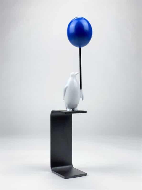 ET HAV AF MULIGHEDER - blå ballon