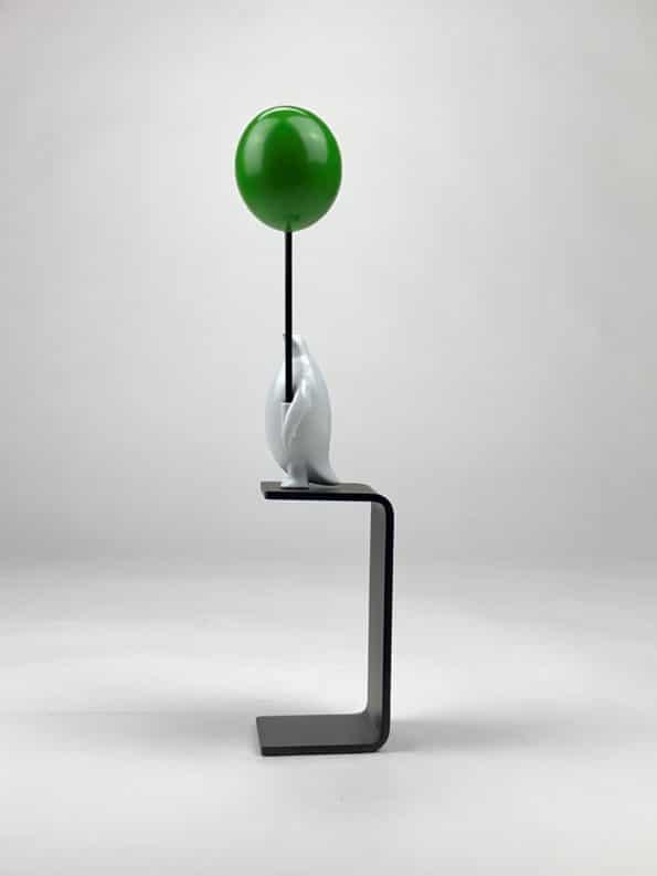 ET HAV AF MULIGHEDER - grøn ballon
