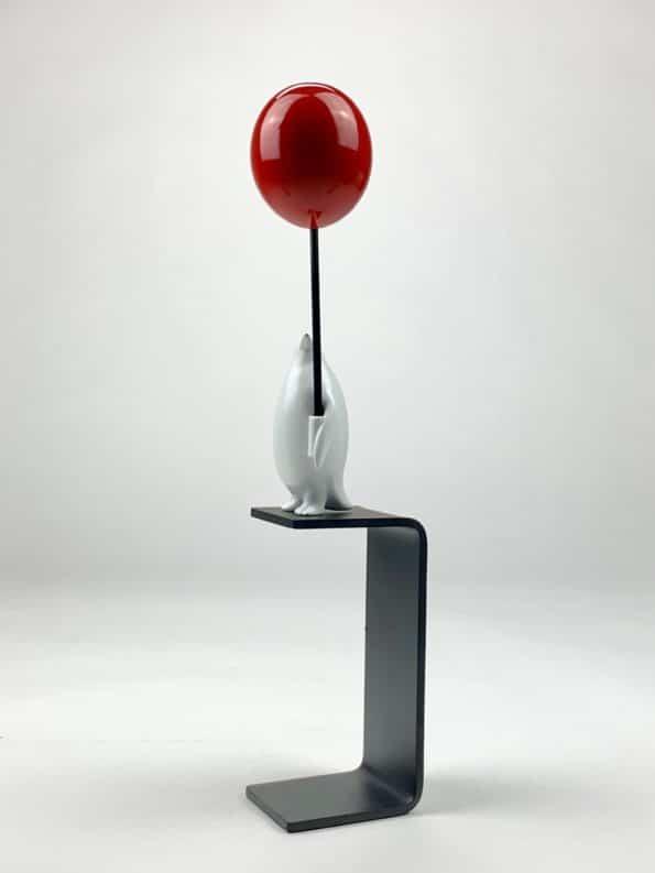 Et hav af muligheder - rød ballon