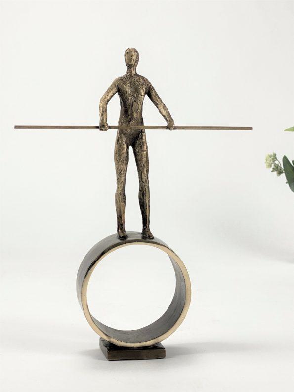 OMDREJNINGSPUNKT - ægte bronze