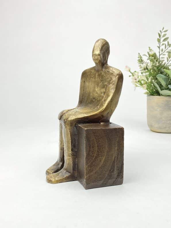 Nye horisonter - ægte bronze