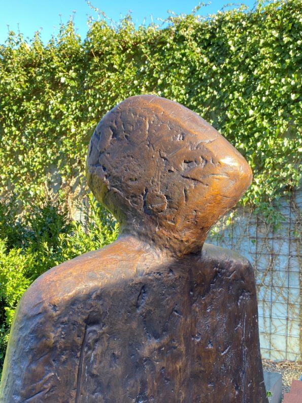 NYE HORISONTER - i kæmpe udgave - ægte bronze