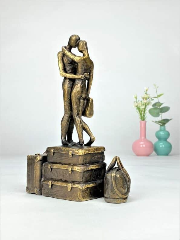 FÆLLES FREMTID - ægte bronze
